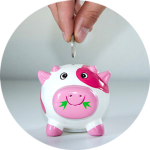貯金の目標額を決める