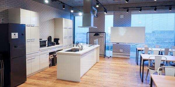コワーキングスペース キッチン
