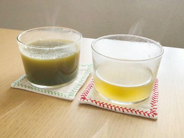 パウダータイプなので調整しやすい甜茶