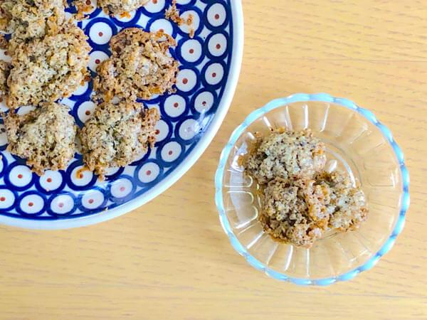 「甜茶クッキー」のレシピ
