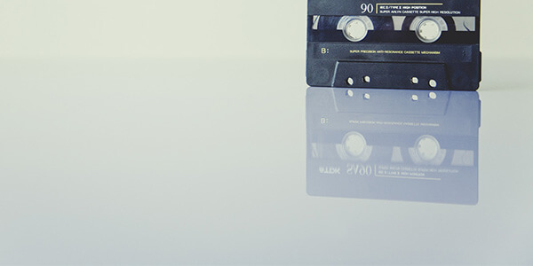 カセットテープのTV CMがクールでクリエイティブな時代