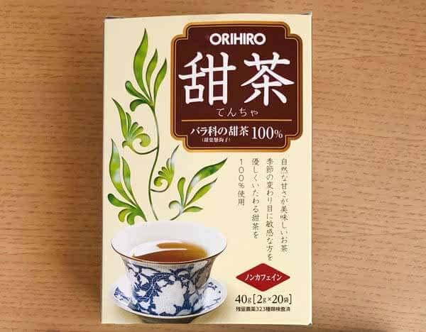 「甜茶」(ORIHIRO) → 急須にティーパックを入れて、熱湯で抽出ができる