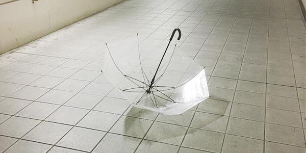 ビニル傘は毎年大量に廃棄されている