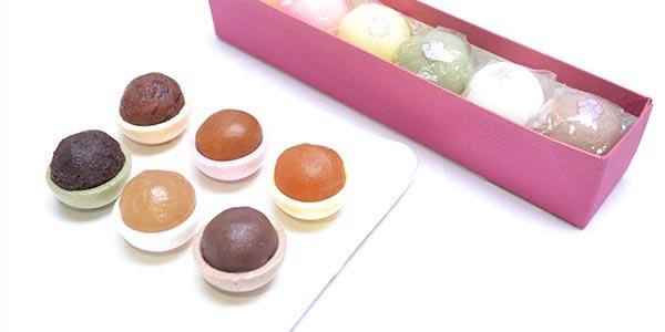 おすすめプレゼント③ 和菓子「花元町」