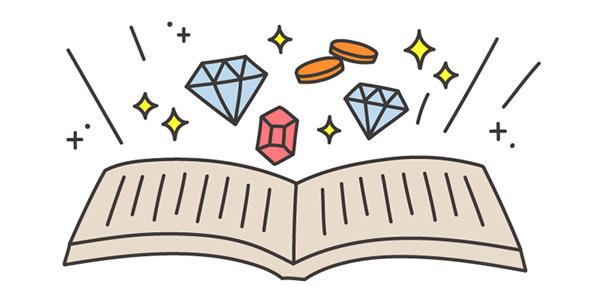 いい本を読むときの話「宝探しのように楽しんでみよう」