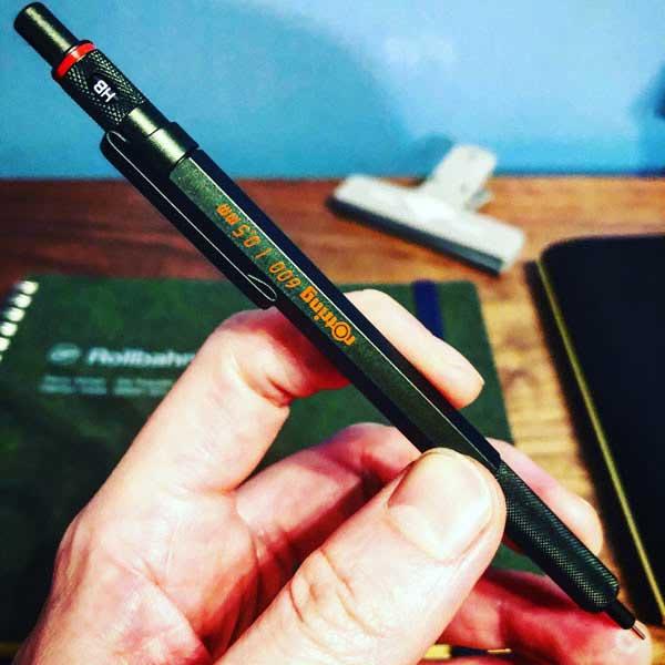 文房具の写真 2:文房具を好きになったきっかけ、ステッドラーの製図シャープペン