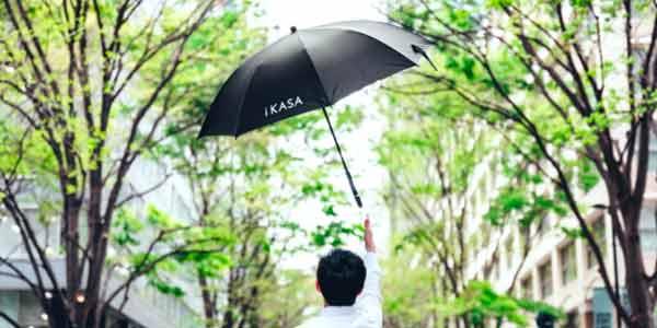 傘のシェアリングサービスを展開する株式会社Nature Innovation Group(サービス名:アイカサ)