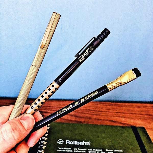 男性が文房具を好きになるきっかけが最も多いと言われているのが、製図用シャープペンです