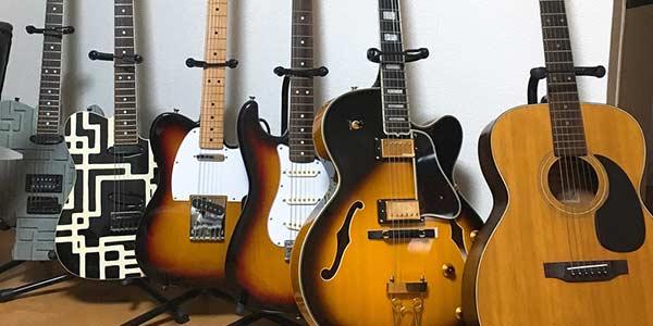 親のギターコレクション