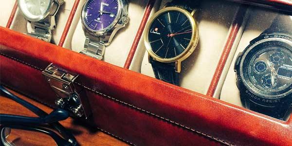 親の時計コレクション
