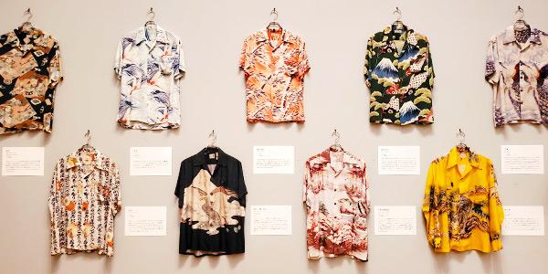 JAPANにアロハシャツの世界的なコレクターがいるから面白いんじゃない!