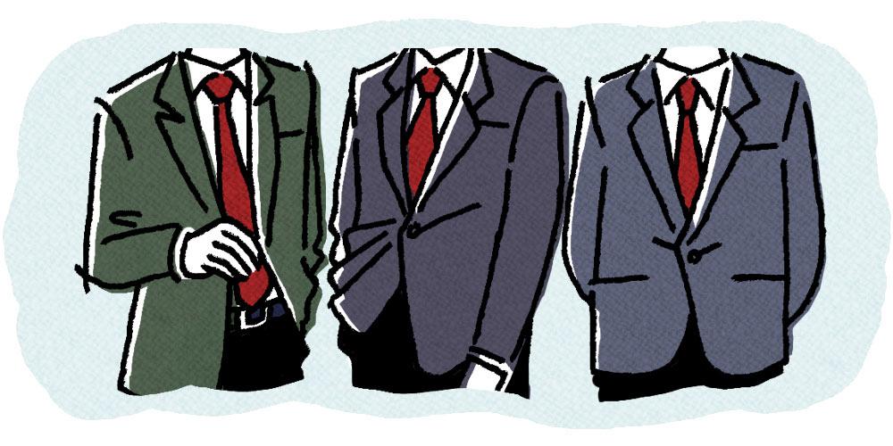 通称G7では議長を務めた日本の大平正芳首相をはじめレッド系のネクタイを着用