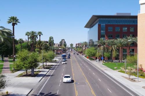 アリゾナ州にある州立大学(ASU)に約4ヶ月語学留学