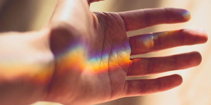 Instagramに多くの虹の写真がシェアされたりする